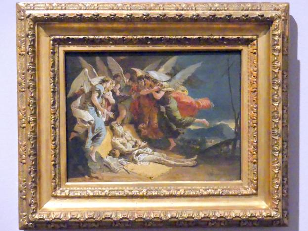 Giovanni Battista Tiepolo: Der Tod des heiligen Hieronymus, um 1732 - 1733