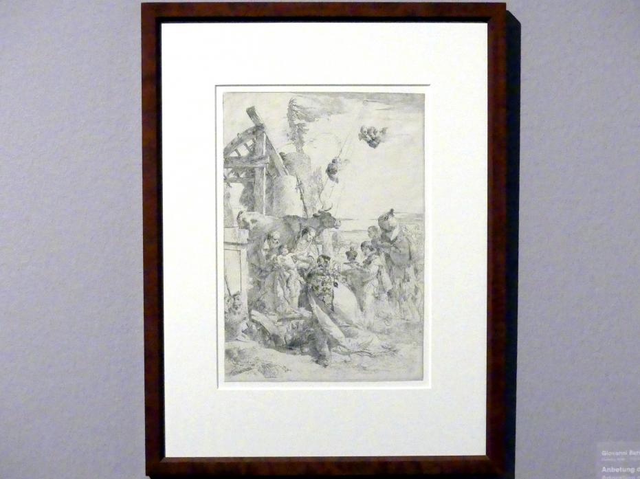 Giovanni Battista Tiepolo: Anbetung der Könige, nach 1745