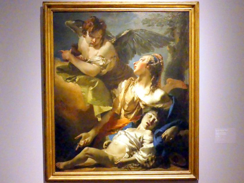 Giovanni Battista Tiepolo: Hagar und Ismael, um 1732
