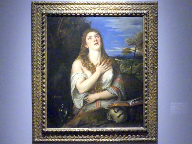 Tiziano Vecellio (Tizian): Die heilige Maria Magdalena als Büßerin, um 1565
