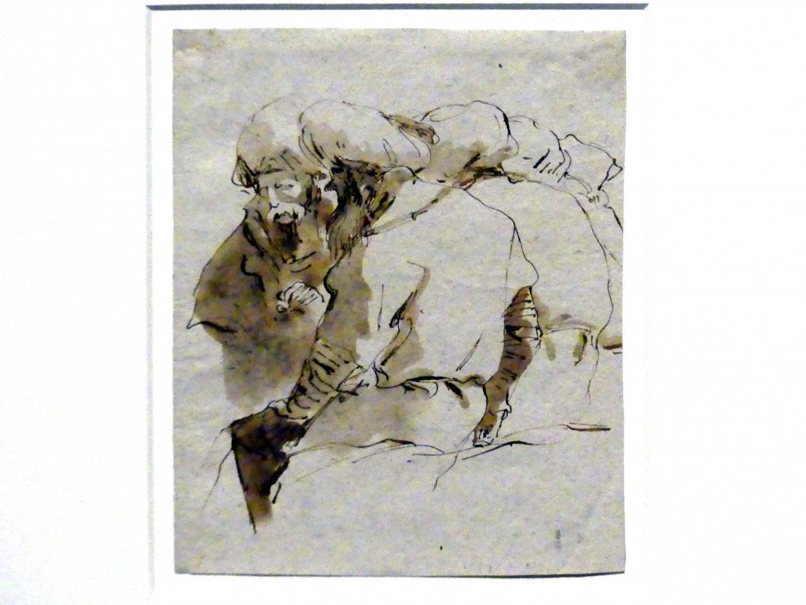 Giovanni Battista Tiepolo: Gruppe von Orientalen, um 1751 - 1757