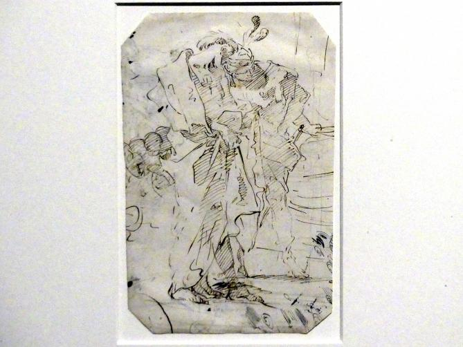 Giovanni Battista Tiepolo: Zwei stehende Männer, um 1718 - 1720