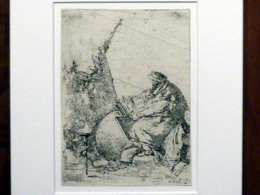 Giovanni Battista Tiepolo: Der Philosoph, um 1743 - 1757