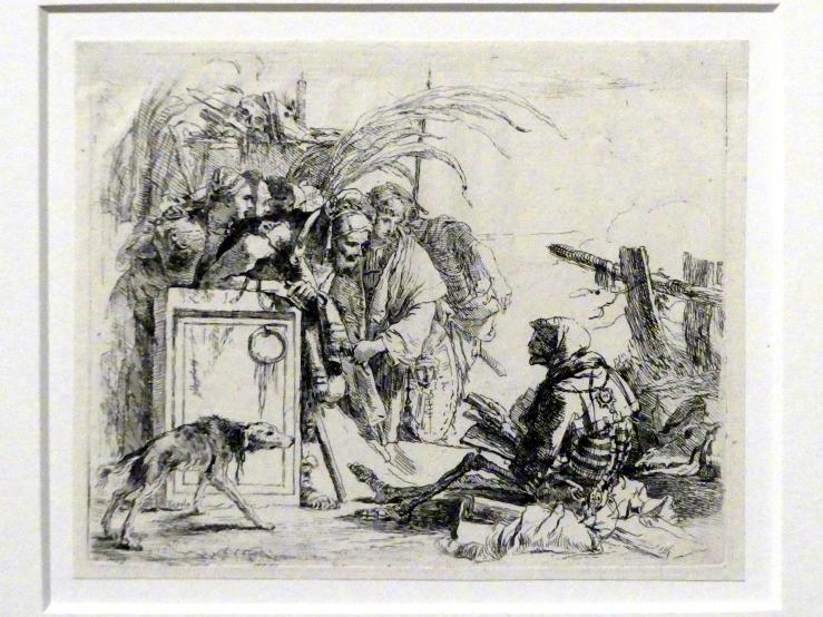 Giovanni Battista Tiepolo: Der Tod hält Audienz, um 1740 - 1742