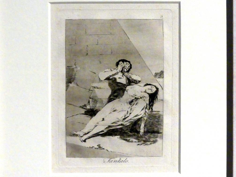 Francisco de Goya (Francisco José de Goya y Lucientes): Tantalus (Los Caprichos, 9), 1799
