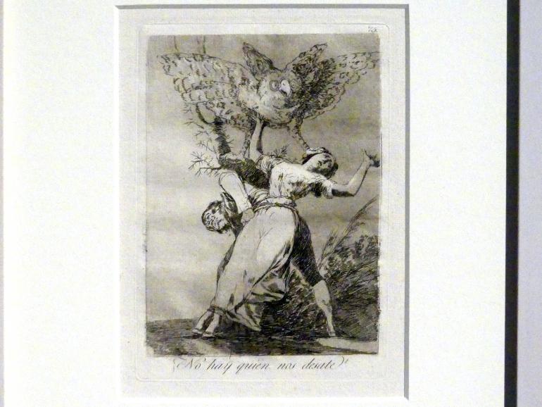 Francisco de Goya (Francisco José de Goya y Lucientes): Gibt es niemanden, der uns losbindet? (Los Caprichos, 75), 1799