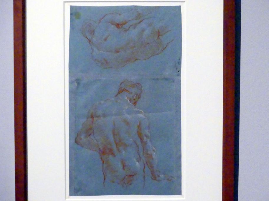 Giovanni Battista Tiepolo: Männlicher Rückenakt, 1752