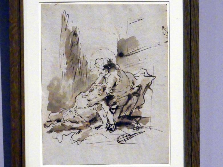 Giovanni Battista Tiepolo: Der Tod des Hyazinth, um 1752 - 1753