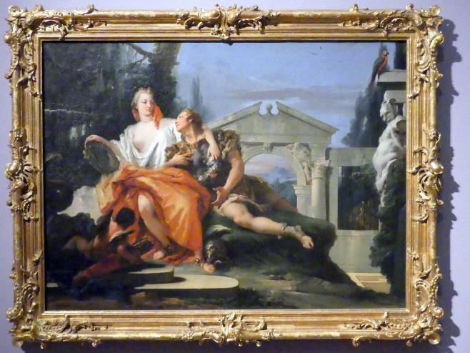 Giovanni Battista Tiepolo: Rinaldo im Zauberbann Armidas, um 1751 - 1753