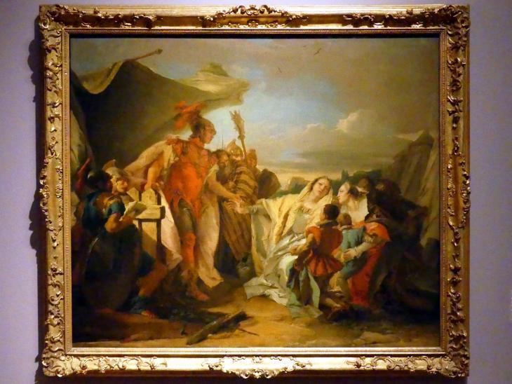 Giovanni Battista Tiepolo: Coriolan vor den Mauern Roms, um 1751 - 1753