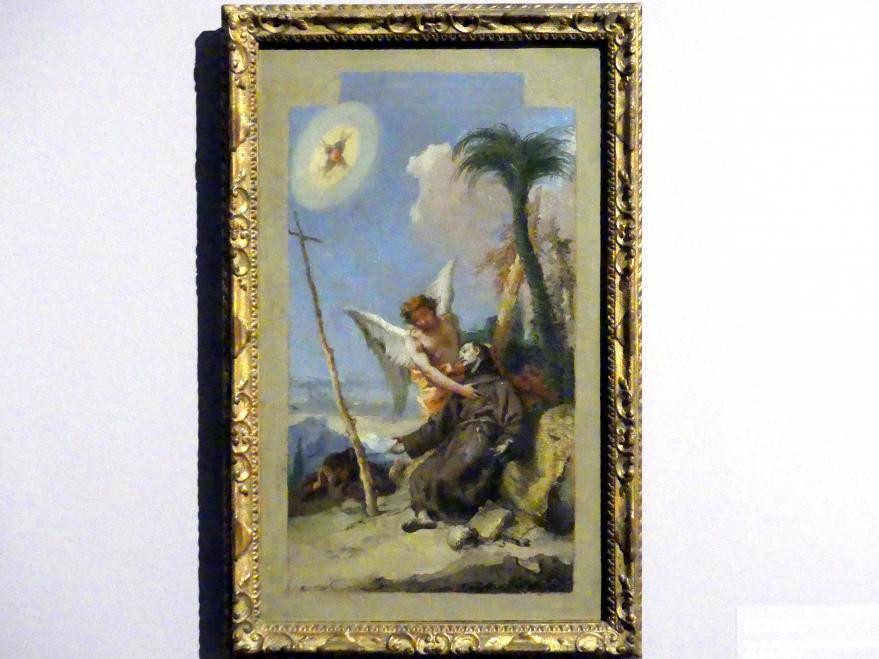 Giovanni Battista Tiepolo: Der heilige Franziskus empfängt die Stigmata, 1767