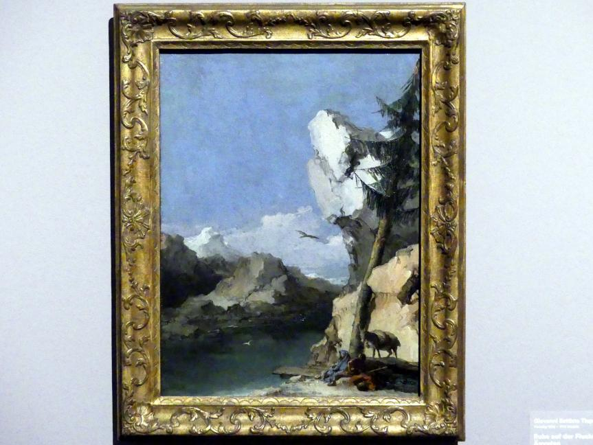 Giovanni Battista Tiepolo: Ruhe auf der Flucht nach Ägypten, um 1762 - 1770