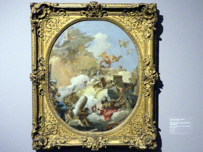Giovanni Battista Tiepolo: Die Apotheose der spanischen Monarchie, um 1764