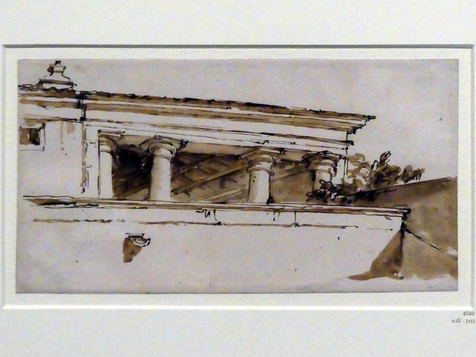 Giovanni Battista Tiepolo: Eingangsloggia der Foresteria der Villa Valmarana, um 1756 - 1757