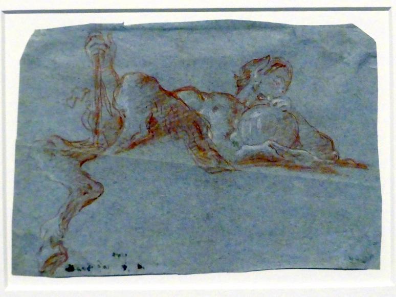 Giovanni Battista Tiepolo: Satyr mit Weinkrug, 1760 - 1762