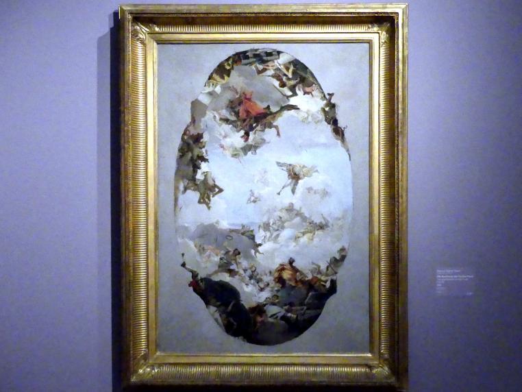 Giovanni Battista Tiepolo: Die Apotheose der Familie Pisani, 1760