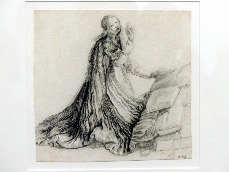 Matthias Grünewald (Mathis Gothart-Nithart): Maria der Verkündigung, 1528