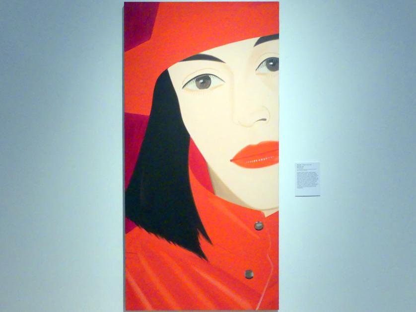 Alex Katz: Red Coat - Roter Mantel, 1982, Bild 1/2