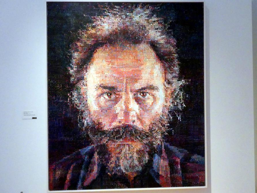 Chuck Close: Lucas I, 1986 - 1987
