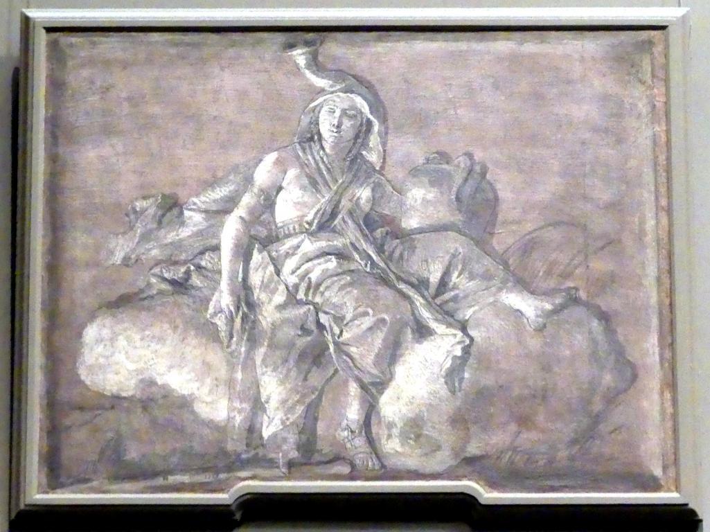 Giovanni Battista Tiepolo: Afrika, Undatiert