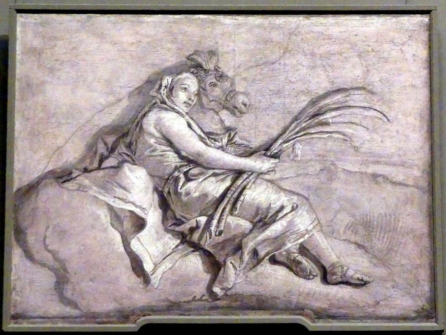 Giovanni Battista Tiepolo: Asien, Undatiert