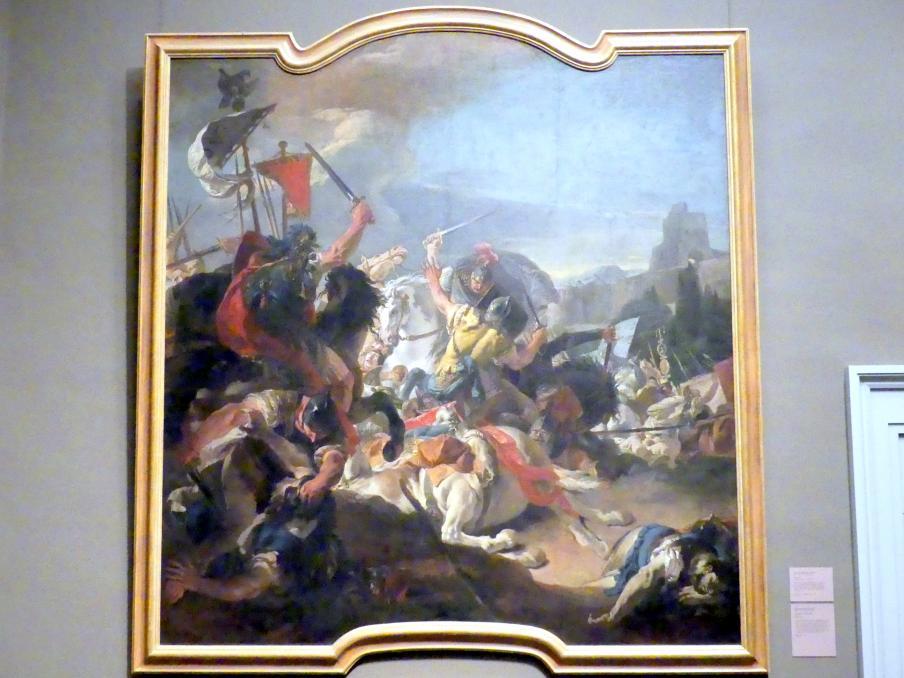 Giovanni Battista Tiepolo: Die Schlacht von Vercellae, 1725 - 1729