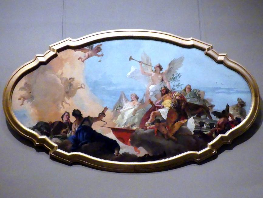 Giovanni Battista Tiepolo: Verherrlichung der Familie Barbaro, um 1750