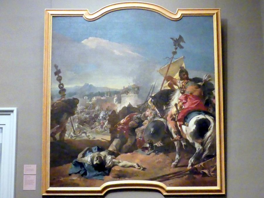 Giovanni Battista Tiepolo: Die Eroberung Karthagos, 1725 - 1729