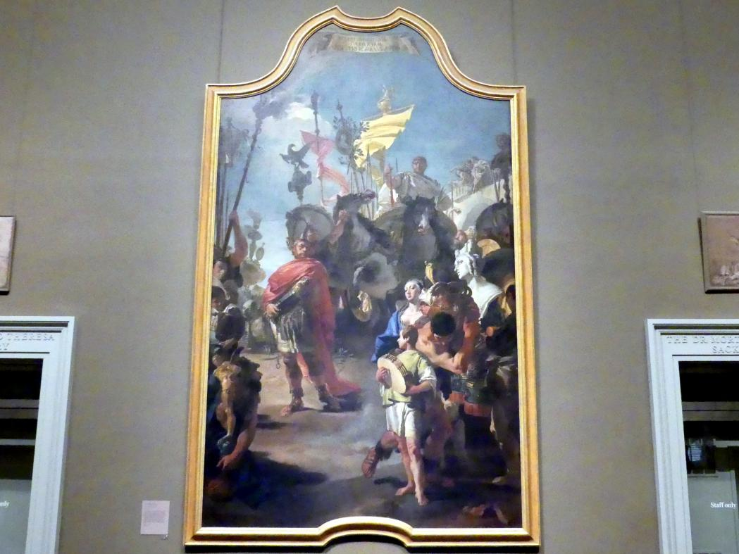 Giovanni Battista Tiepolo: Der Triumph von Marius, 1729