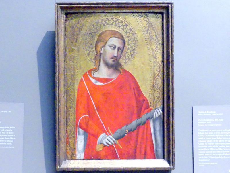 Taddeo Gaddi: Heiliger Julian, um 1340 - 1350