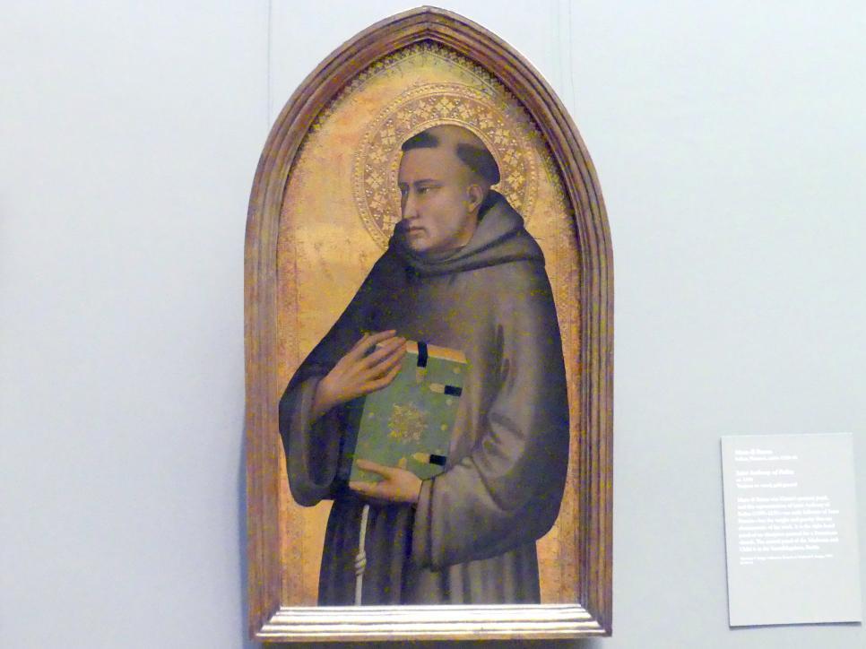 Maso di Banco: Heiliger Antonius von Padua, um 1340