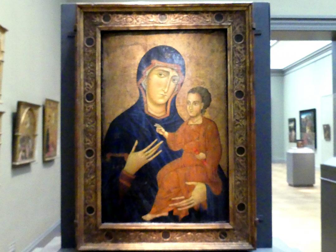 Berlinghiero Berlinghieri: Maria mit dem Kind, um 1230 - 1240