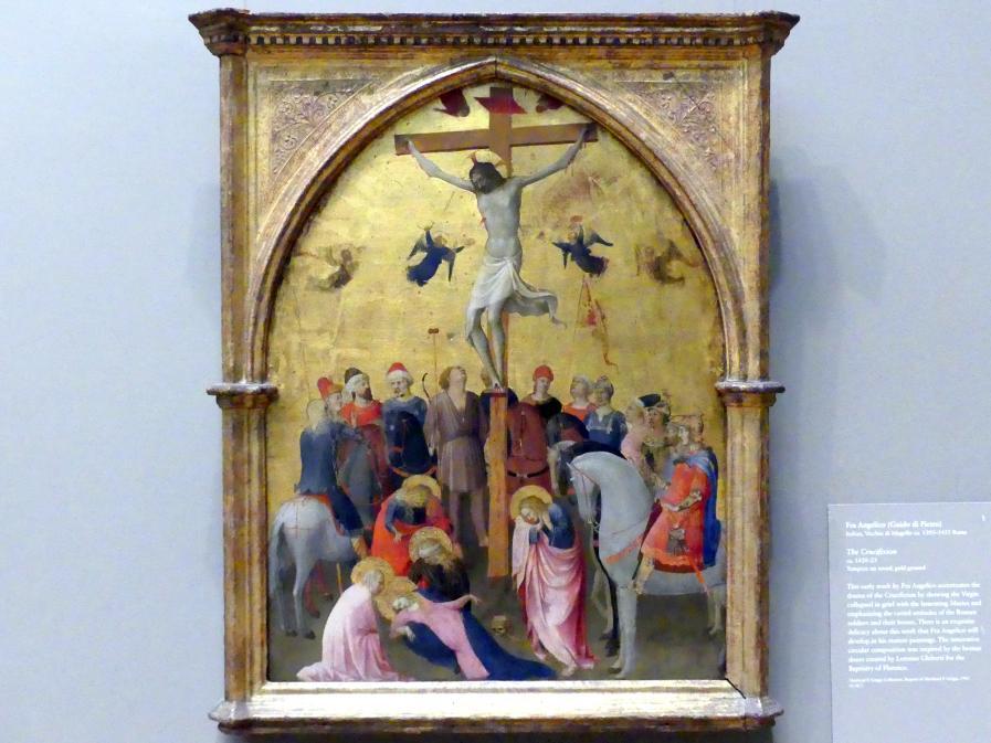 Fra Angelico: Kreuzigung, um 1420 - 1423