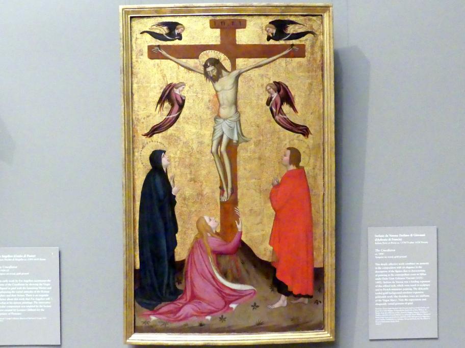 Stefano da Verona (Stefano di Giovanni): Kreuzigung, um 1400