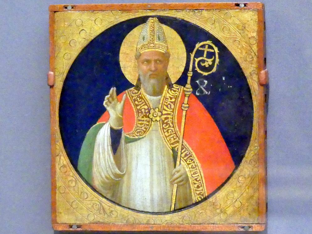 Fra Angelico: Heiliger Bischof, um 1425