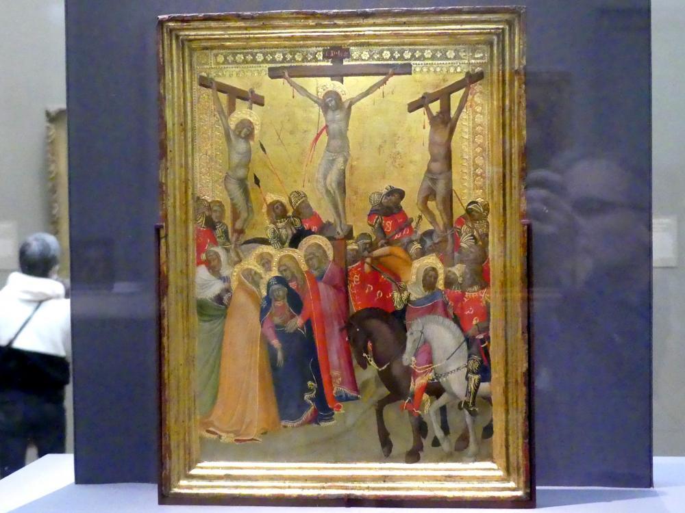 Pietro Lorenzetti: Kreuzigung, um 1340 - 1350