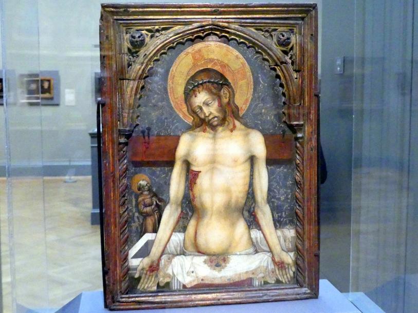 Michele Giambono: Schmerzensmann, um 1430