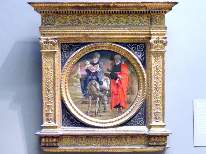 Cosmè (Cosimo) Tura: Flucht nach Ägypten, um 1470 - 1480