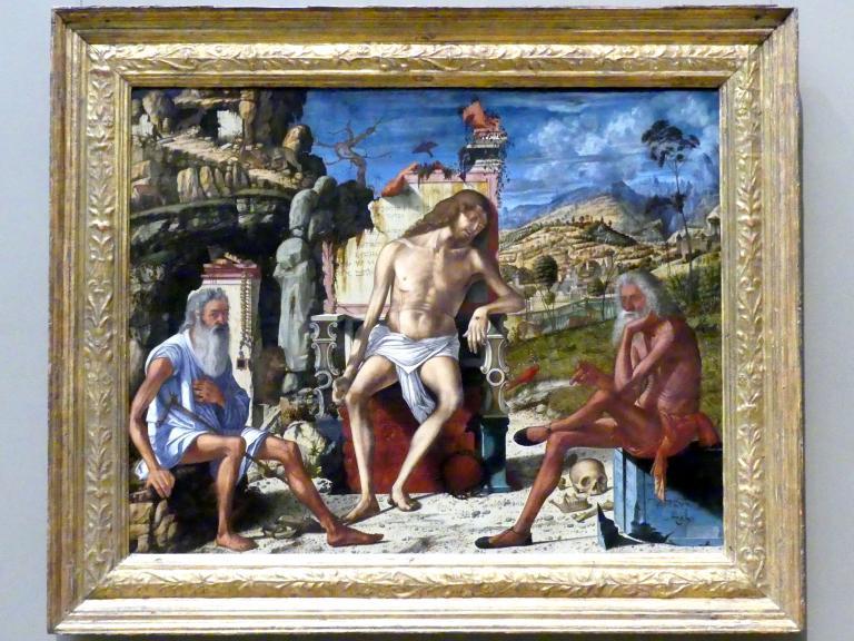 Vittore Carpaccio: Meditation über die Passion Christi, um 1490
