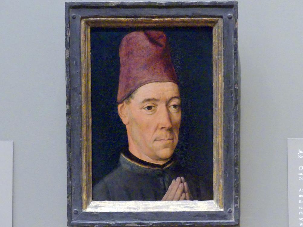 Dieric Bouts d.Ä.: Bildnis eines Mannes, um 1470