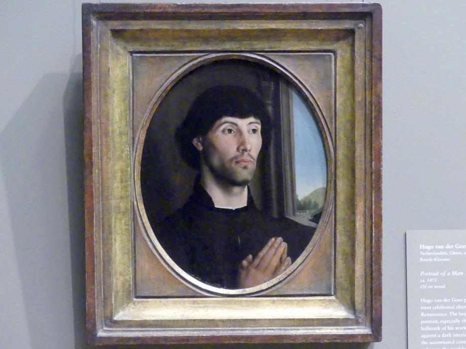Hugo van der Goes: Bildnis eines Mannes, um 1475