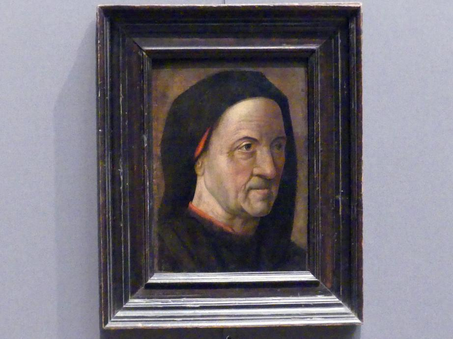 Hugo van der Goes: Bildnis eines alten Mannes, um 1470 - 1475