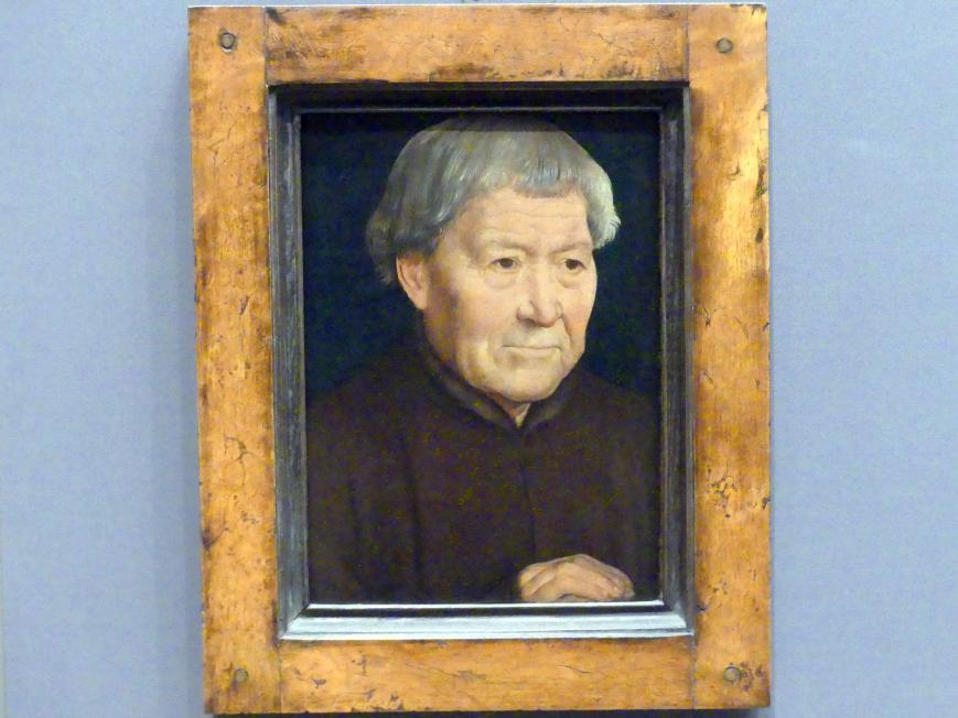 Hans Memling: Bildnis eines alten Mannes, um 1475