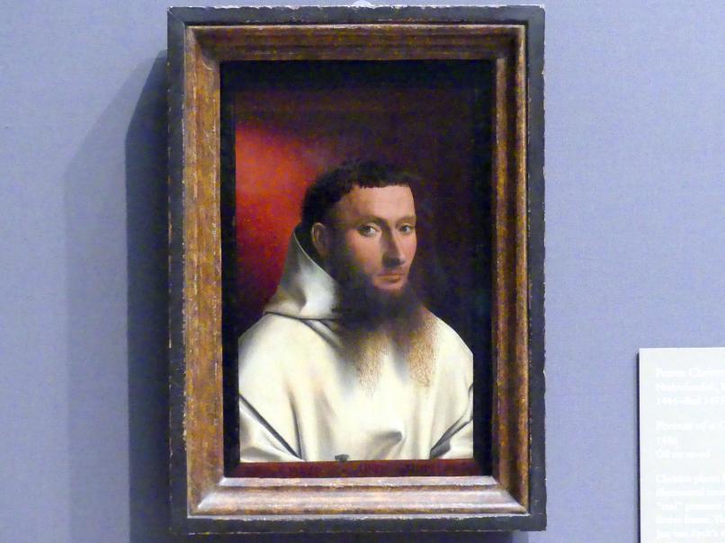 Petrus Christus: Porträt eines Kartäusers, 1446