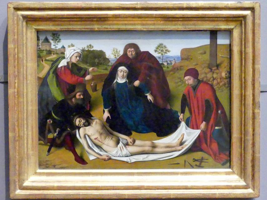 Petrus Christus: Beweinung Christi, um 1450