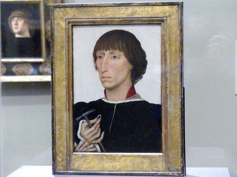 Rogier van der Weyden: Francesco d'Este (um 1429-1486), um 1460
