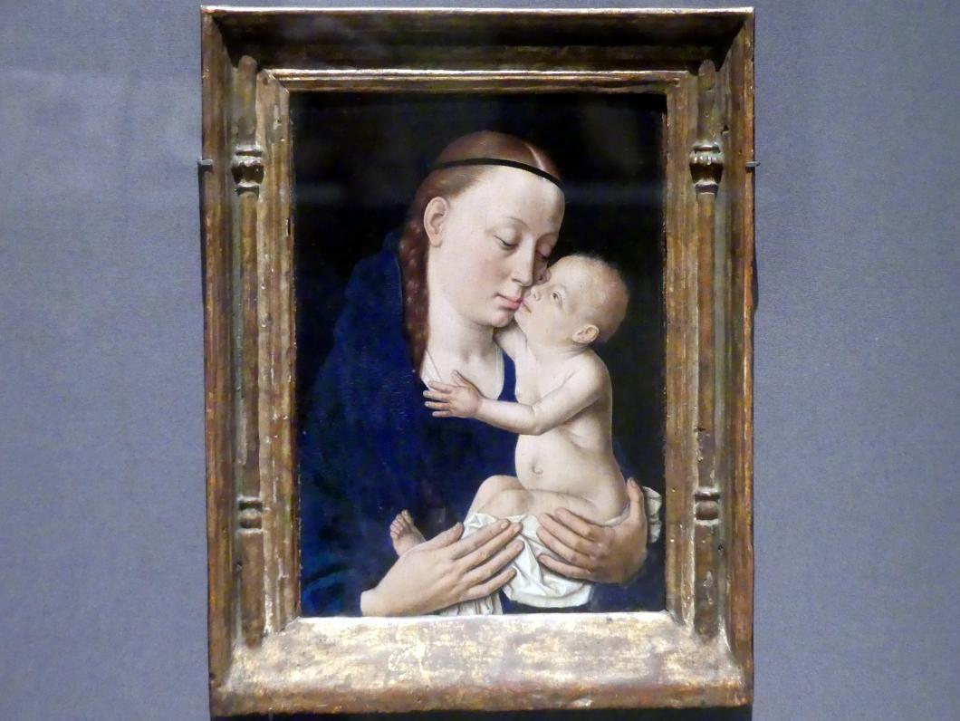 Dieric Bouts d.Ä.: Maria mit Kind, um 1455 - 1460