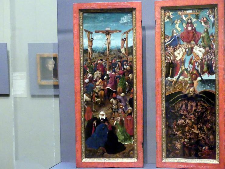 Jan van Eyck: Kreuzigung, um 1440 - 1441