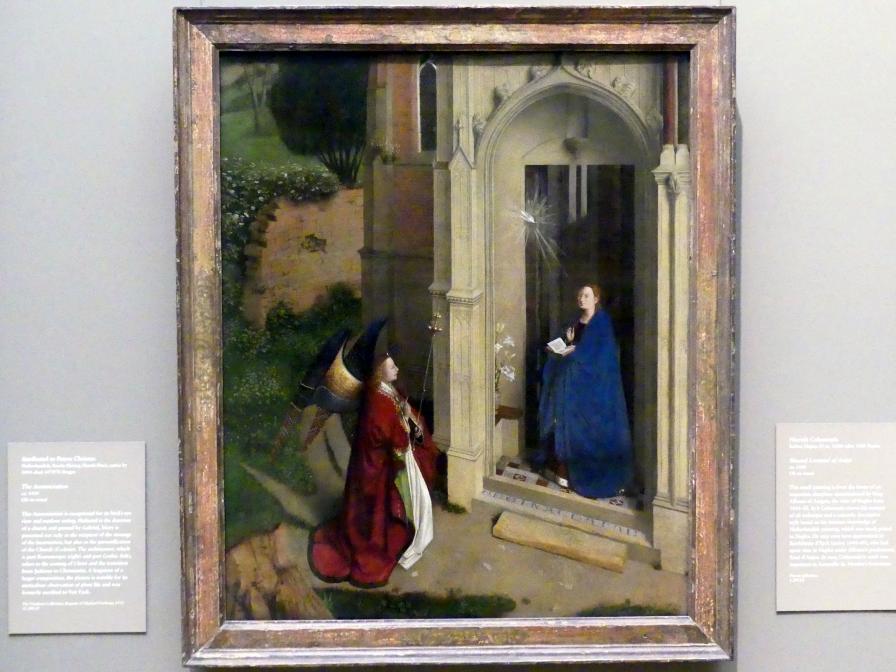 Petrus Christus: Mariä Verkündigung, um 1450