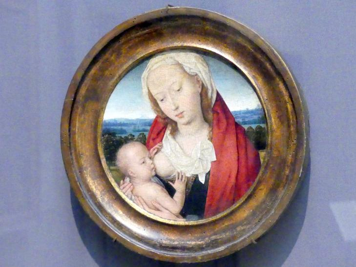 Hans Memling: Maria mit Kind, um 1475 - 1480
